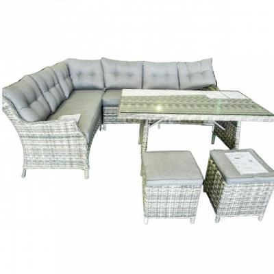 Bộ sofa mây xám- cjw117