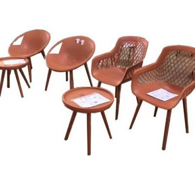 Bộ bàn ghế nhựa 3 món