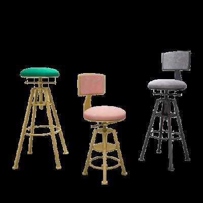 Bàn ghế sắt mặt gỗ trang nhã cao cấp