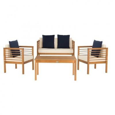 Bàn ghế gỗ bạch đàn