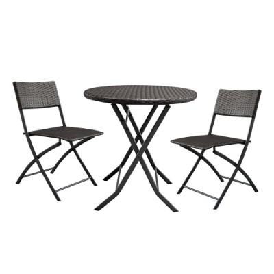 Bộ bàn ghế nhựa khung sắt đơn giản