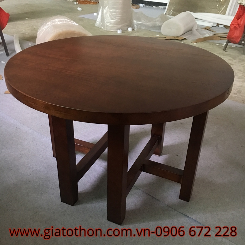 Bàn ghế ăn bằng gỗ
