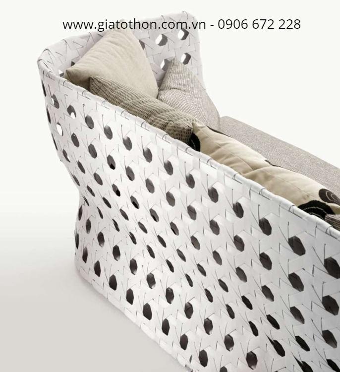 Nhận sản xuất nội thất nhựa mây theo yêu cầu