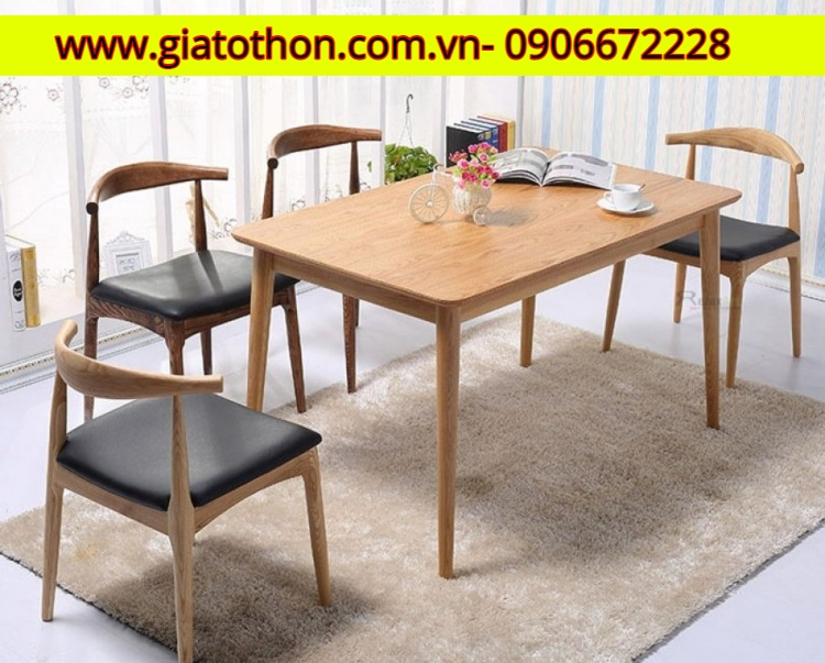bàn ghế gỗ phòng ăn đẹp