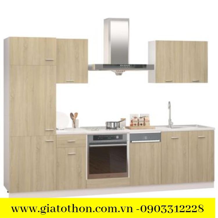công ty phân phối tủ bếp bằng gỗ tự nhiên