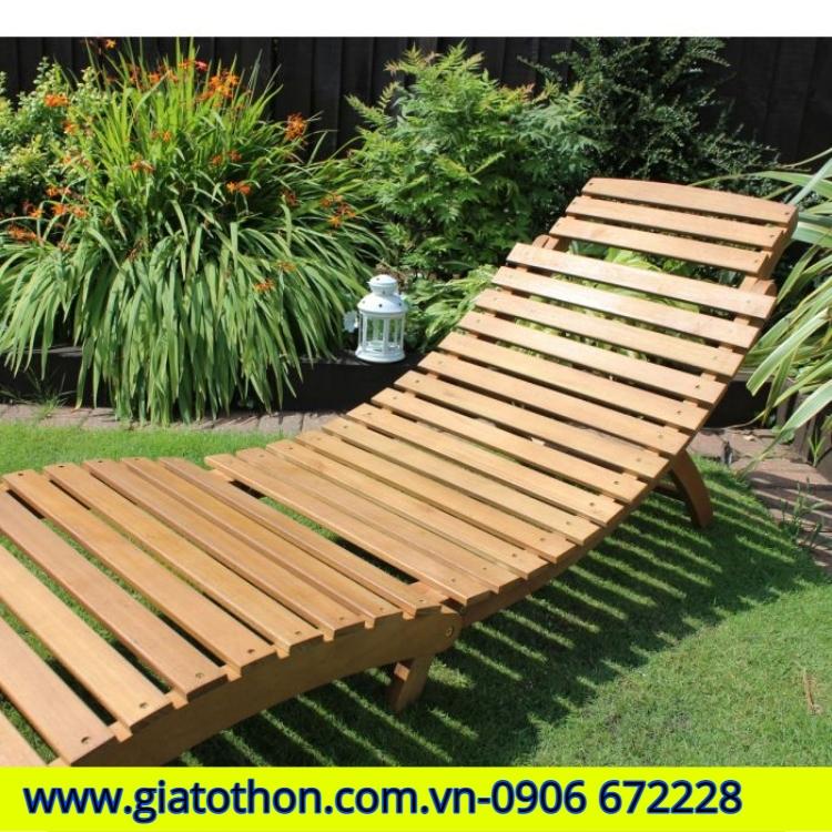 ghế tắm nắng sân vườn